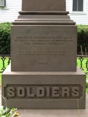First Civil War Monument image. Click for full size.