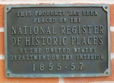 Thespian Hall NRHP Marker image. Click for full size.