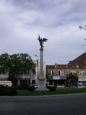 Bloomfield Centennial War Memorial Marker image. Click for full size.