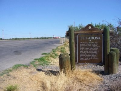 Tularosa Marker image. Click for full size.