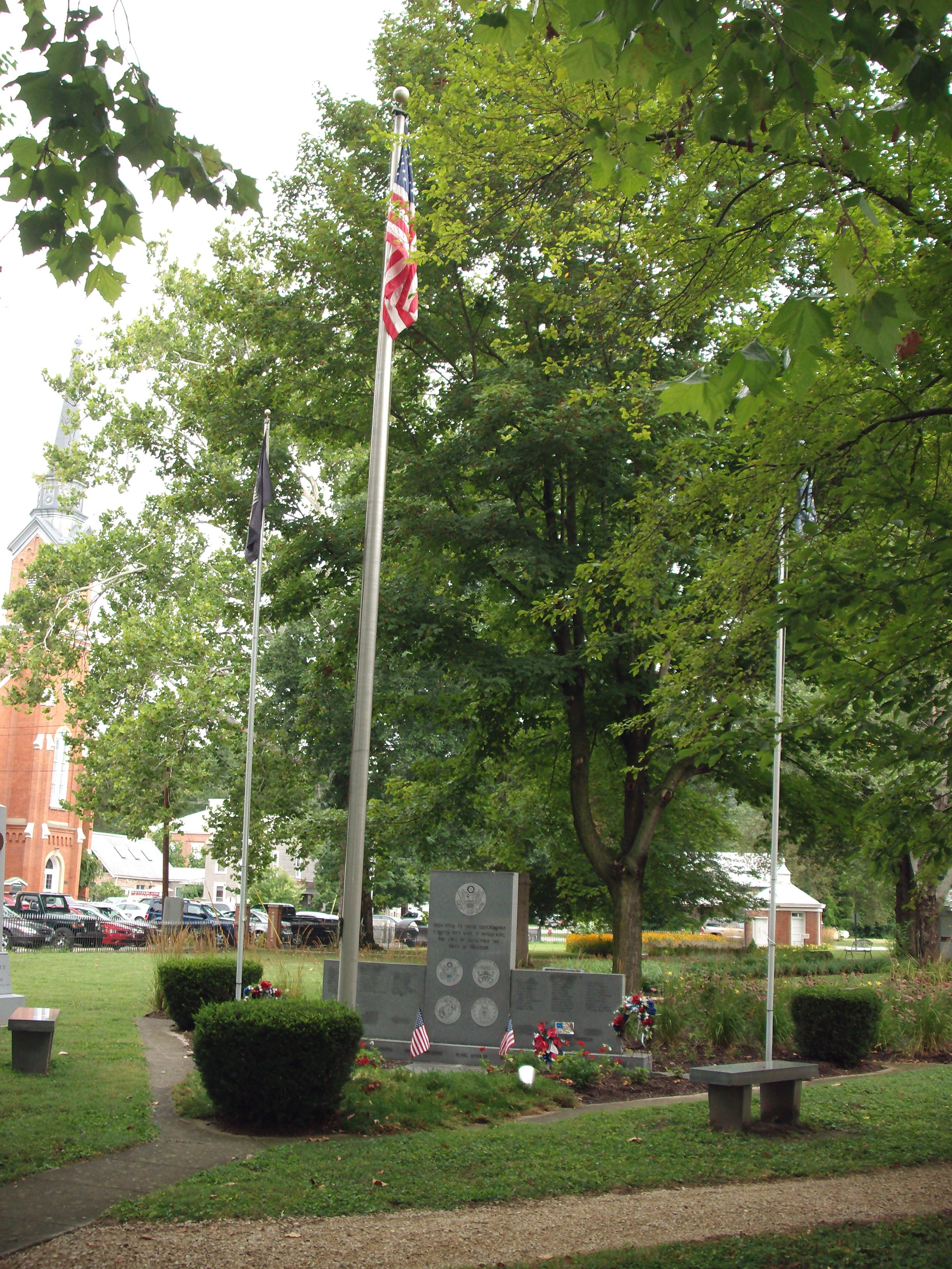Other View - - Switzerland County Honor Roll Memorial Marker