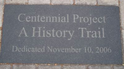 [Morgan Hill] Centennial Project Marker image. Click for full size.