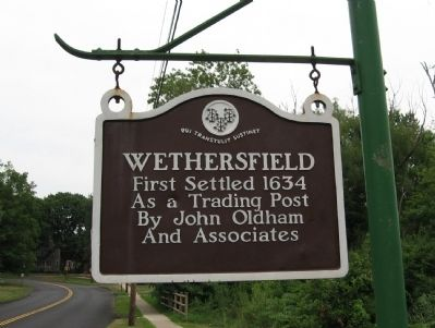 Wethersfield Marker image. Click for full size.