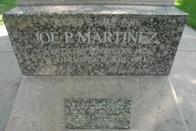 Joe P. Martinez Marker image. Click for full size.