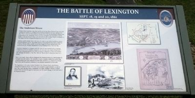 Anderson House - The Battle of Lexington image. Click for full size.