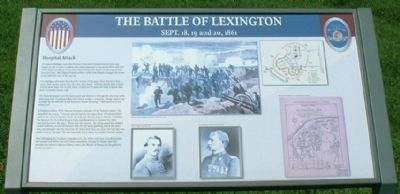 Hospital Attack - The Battle of Lexington image. Click for full size.