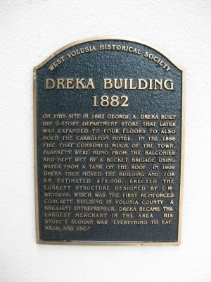 Dreka Building Marker image. Click for full size.