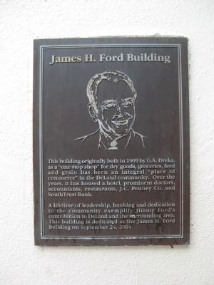 James H. Ford Building Marker image. Click for full size.