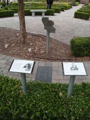 The De Anza Expedition Marker Along the History Trail image. Click for full size.