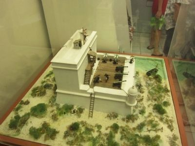 Model of Fort Matanzas image. Click for full size.