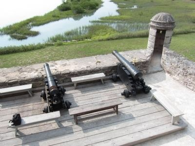 Cannons and Sentry Box image. Click for full size.