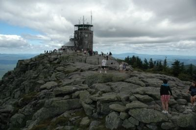 Whiteface Mountain Summit Area image. Click for full size.