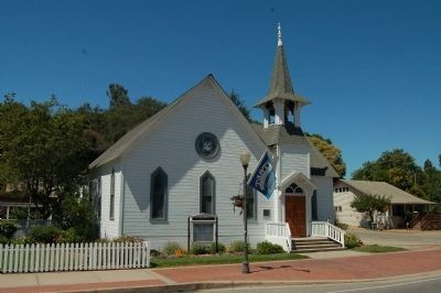Morgan Hill United Methodist Church image. Click for full size.