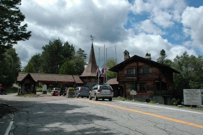 Whiteface Mountain Veterans Memorial Highway - Toll House image. Click for full size.