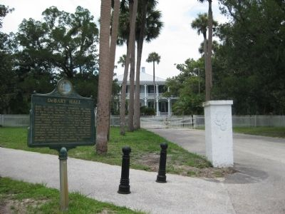 DeBary Hall / Florida Federation of Art, Inc. Marker image. Click for full size.