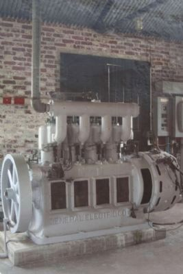 Powerhouse; a Generator seen inside image. Click for full size.