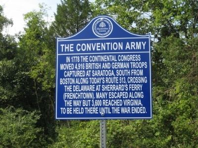The Convention Army Marker image. Click for full size.