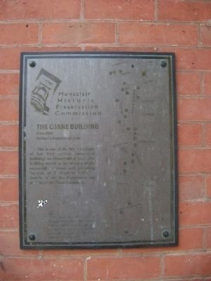 The Crane Building Marker image. Click for full size.