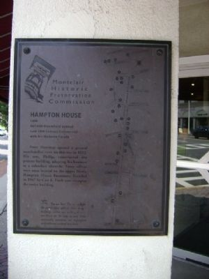 Hampton House Marker image. Click for full size.