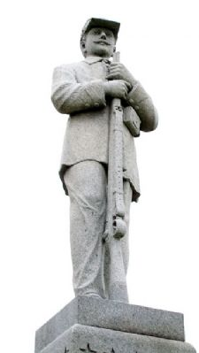 Civil War Soldiers and Sailors Memorial Statue image. Click for full size.