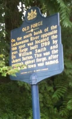 Old Forge Marker image. Click for full size.