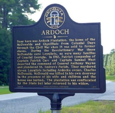 Ardoch Marker image. Click for full size.