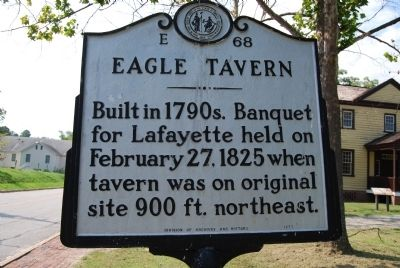 Eagle Tavern Marker image. Click for full size.