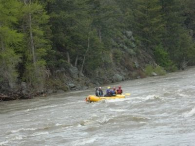Rafting on the Yellowstone River image. Click for full size.