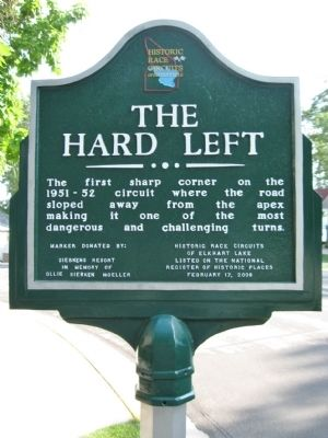 The Hard Left Marker image. Click for full size.