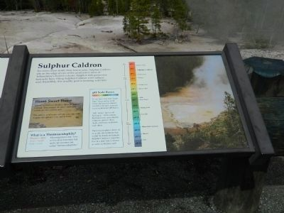 Sulphur Caldron Marker image. Click for full size.