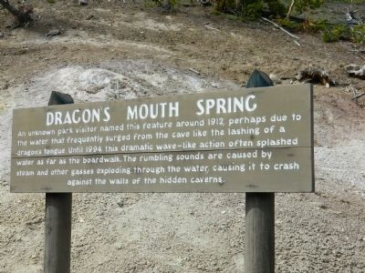 Dragon's Mouth Spring Marker image. Click for full size.