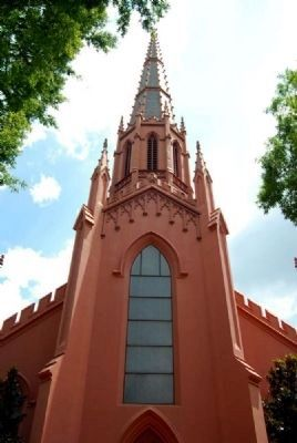 First Presbyterian Church Main Spire image. Click for full size.