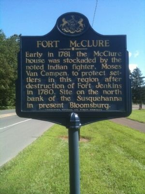 Fort McClure Marker image. Click for full size.