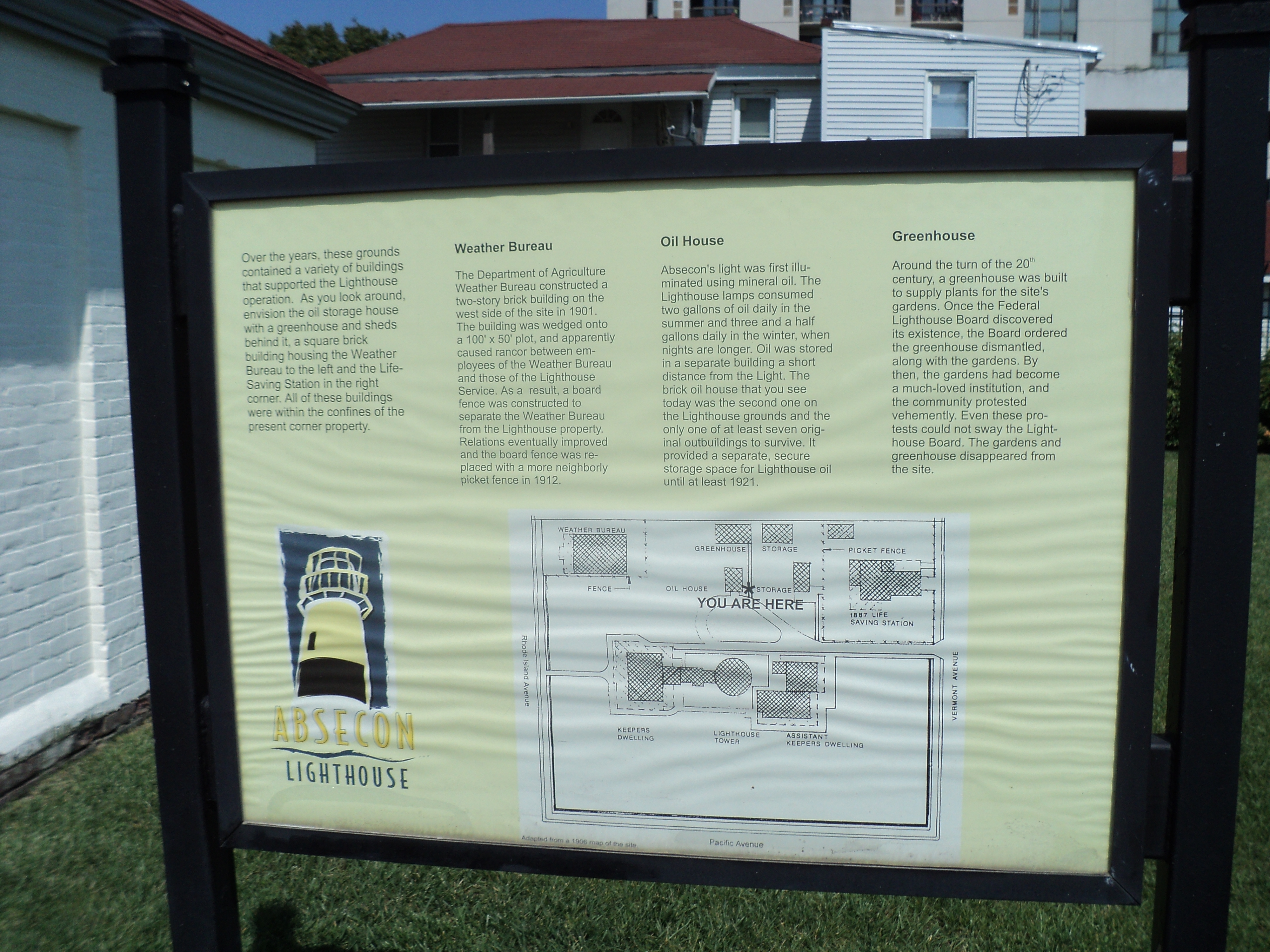 Absecon Lighthouse Marker