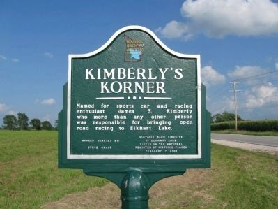 Kimberly's Korner Marker image. Click for full size.