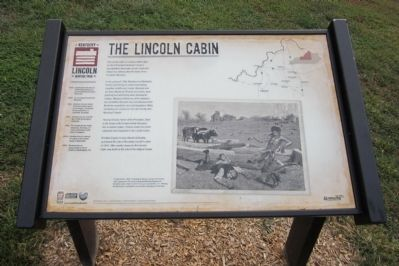 The Lincoln Cabin Marker image. Click for full size.