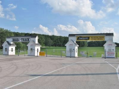Road America Main Gate image. Click for full size.