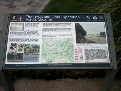 The Lewis and Clark Expedition Across Missouri image. Click for full size.
