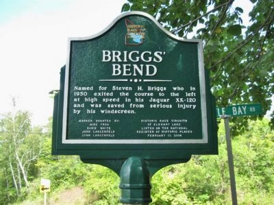 Briggs' Bend Marker image. Click for full size.