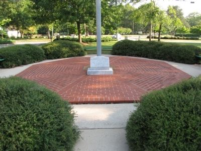 Athens College Veteran's Memorial Marker image. Click for full size.