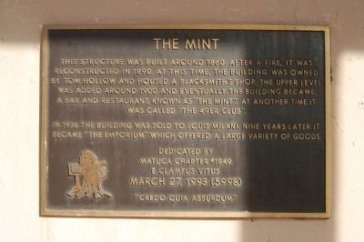 The Mint Marker image. Click for full size.