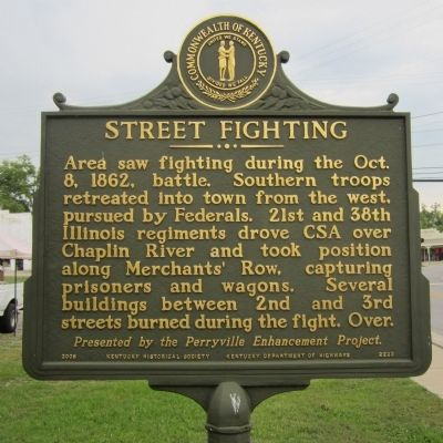 Street Fighting Marker (reverse) image. Click for full size.