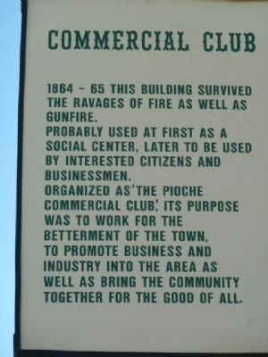 Commercial Club Marker image. Click for full size.