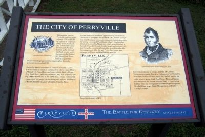 The City of Perryville Marker image. Click for full size.