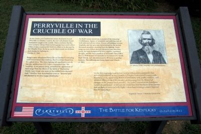 Perryville in the Crucible of War Marker image. Click for full size.