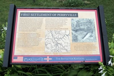 First Settlement of Perryville Marker image. Click for full size.