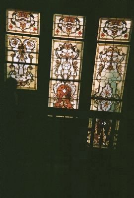 Curry House Tiffany Windows image. Click for full size.