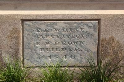 Trinity Episcopal Church Cornerstone image. Click for full size.