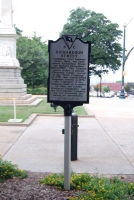 Richardson Street Marker image. Click for full size.