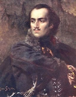 Casimir Pulaski<br>1745-1779 image. Click for full size.